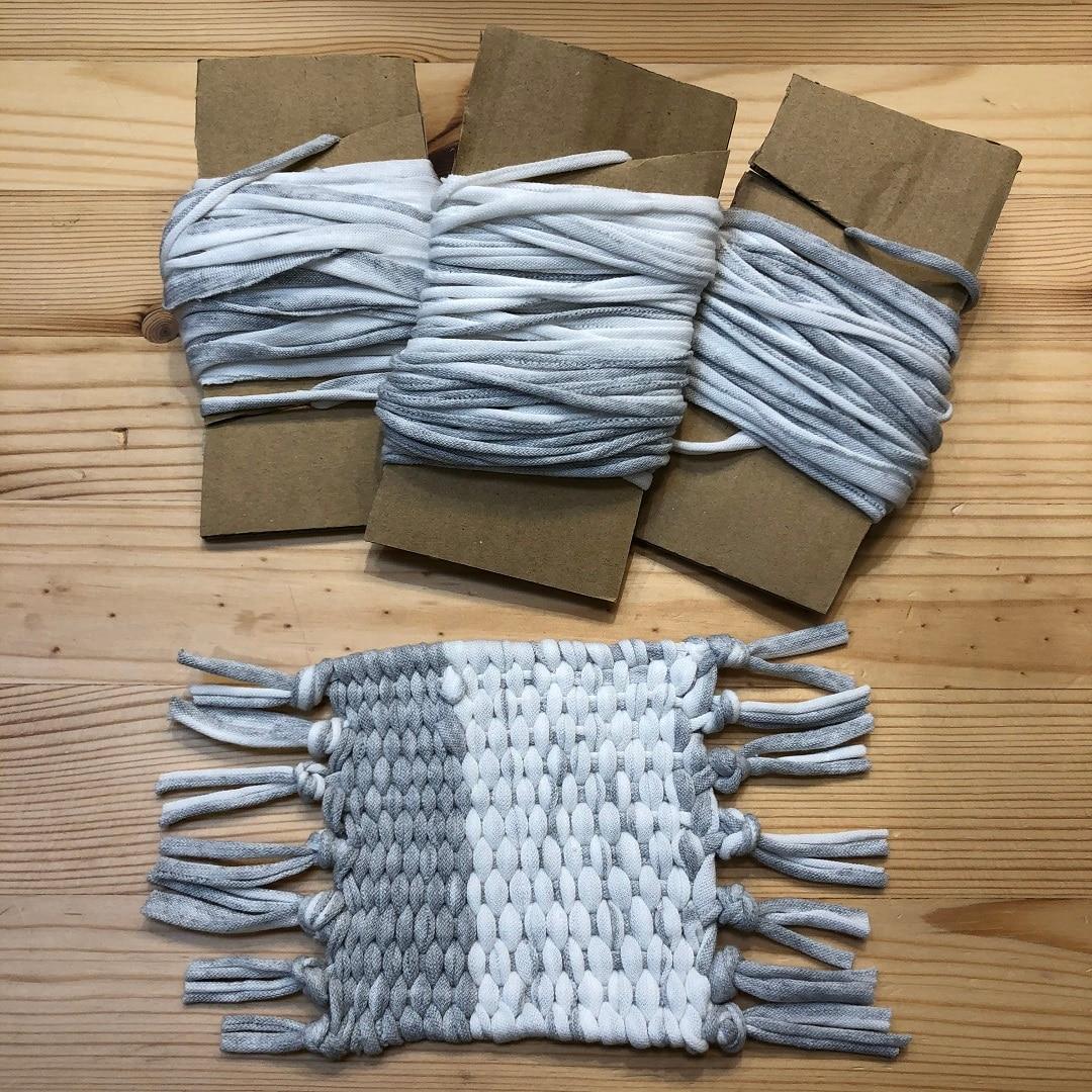 キービジュアル画像:「ダンボール織り機でコースターを作ろう」ワークショップを開催致します!