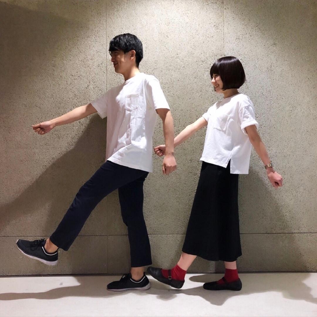 キービジュアル画像:白Tシャツを着よう|Tシャツのある休日。#01