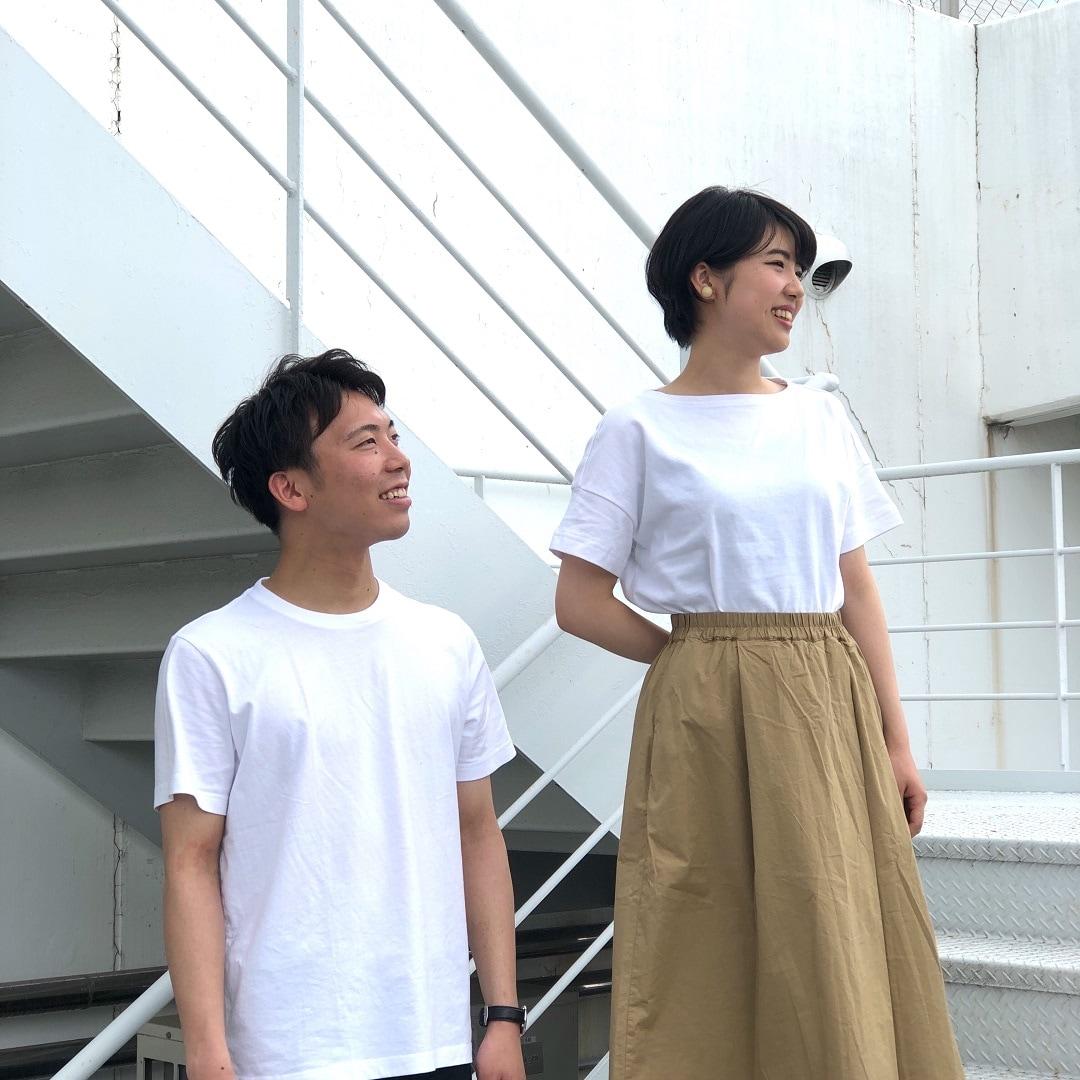キービジュアル画像:白Tシャツを着よう Tシャツのある休日。#03