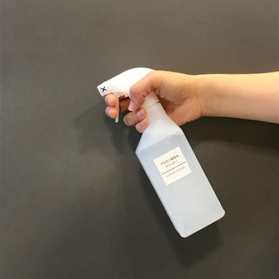 キービジュアル画像:アルカリ電解水クリーナーが新しくなりました スタッフのおすすめ