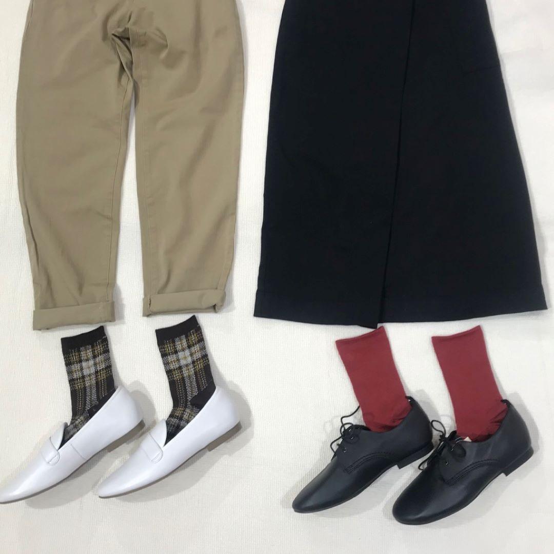 キービジュアル画像:直角靴下にも秋色が揃いました。そして!| スタッフのおすすめ
