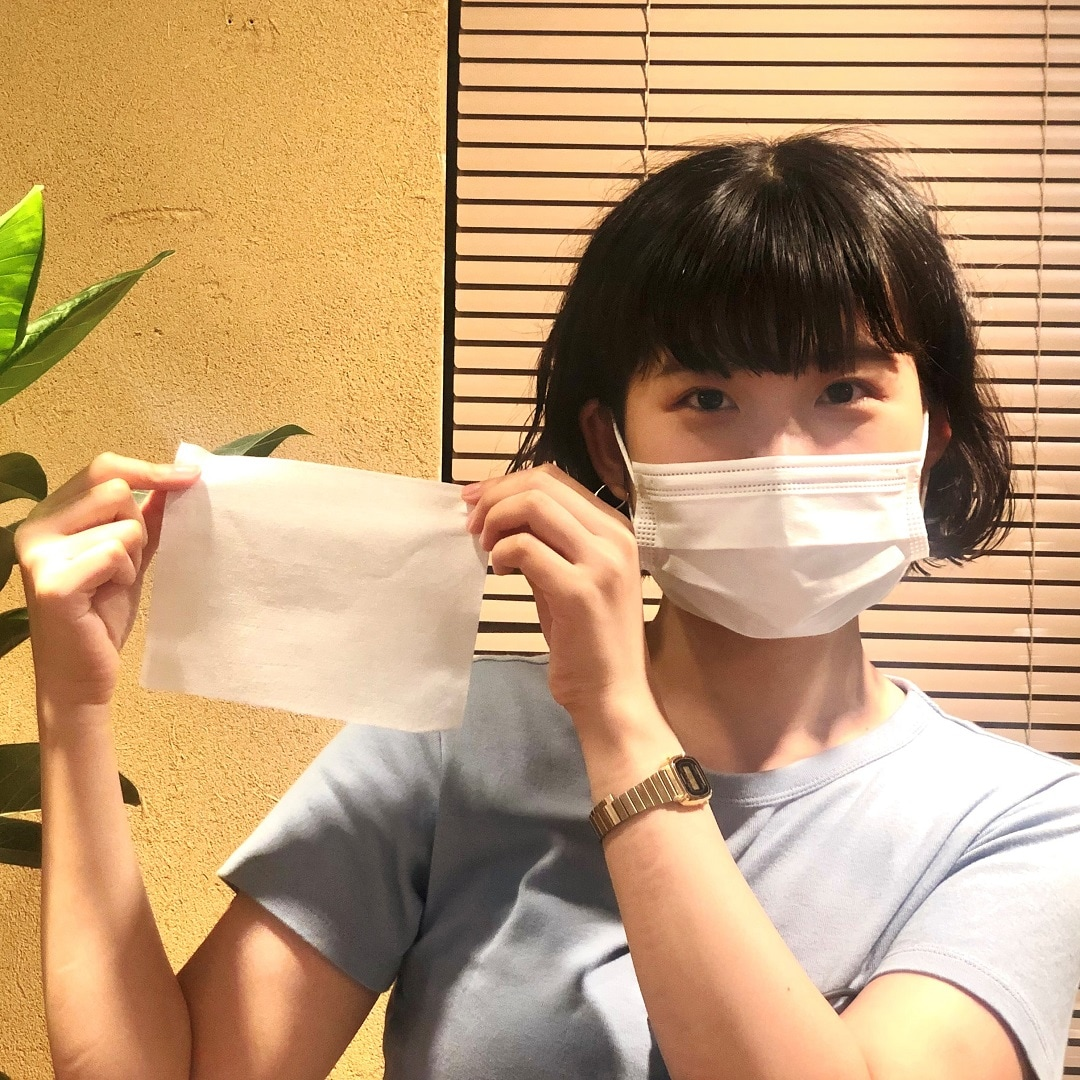 て 使う マスク 洗っ 不織布