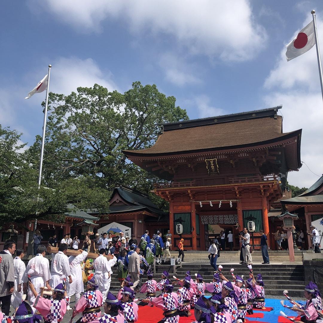 キービジュアル画像:富士山の開山を祝う「表口富士開山2019」に行ってきました!② 富士宮だよりvol.7
