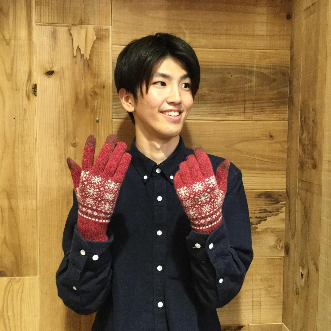 キービジュアル画像:【湘南藤沢オーパ】スマホも使える あったか手袋