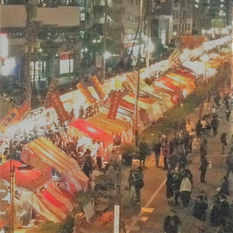 キービジュアル画像:【キュポ・ラ川口】賑わう年の瀬まち景色