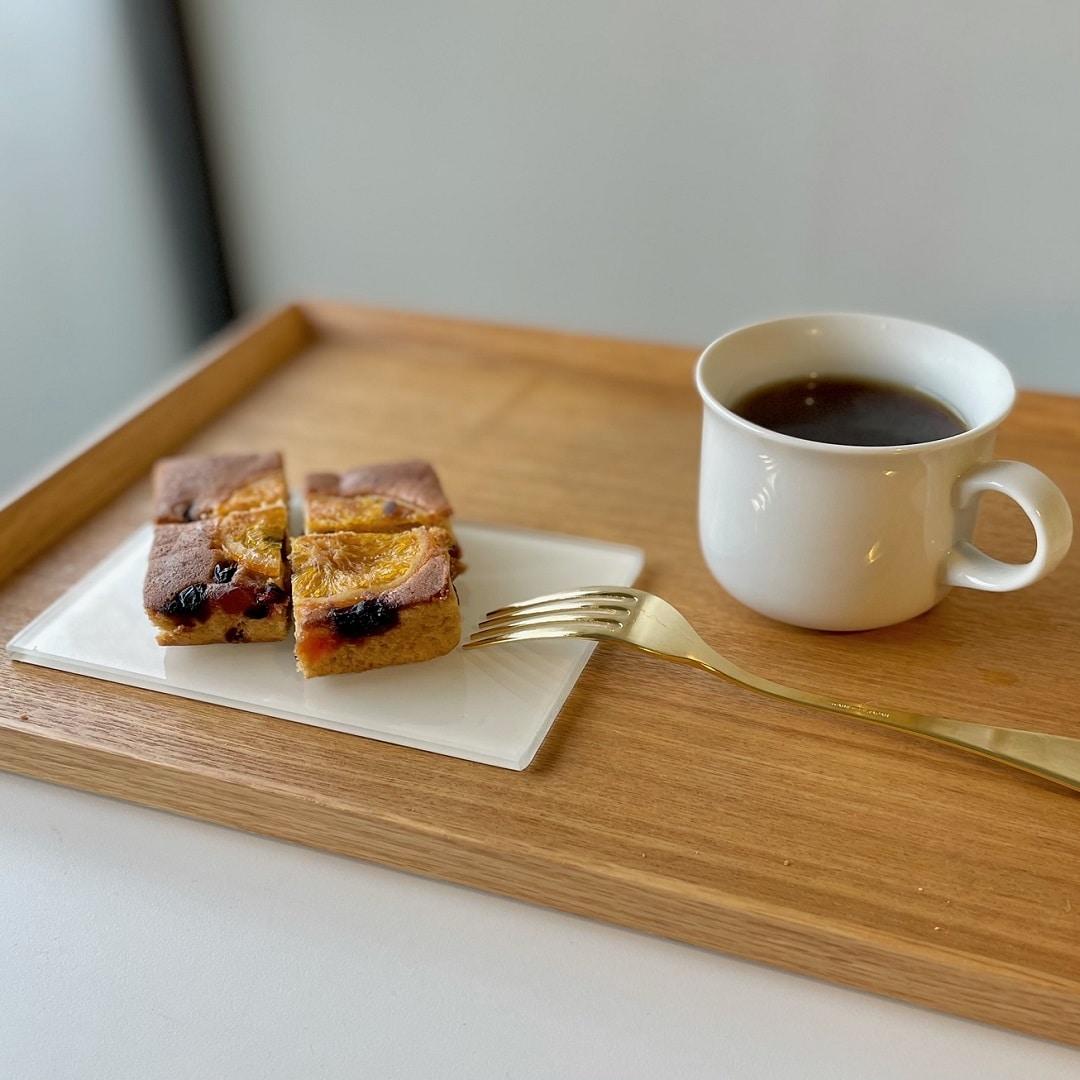 【岐阜高島屋】フルーツケーキとコーヒー