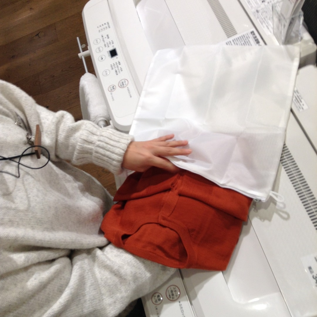 キービジュアル画像:【有楽町】ウールシルクのお手入れ|スタイリングアドバイザー