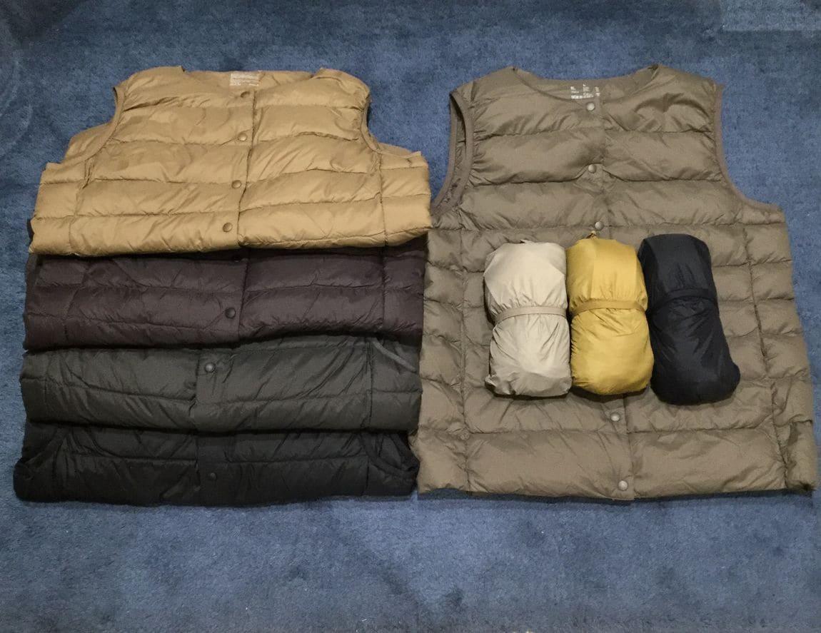 【新さっぽろサンピアザ】畳むとコンパクト、でもふっくら暖かい軽量ダウンベスト