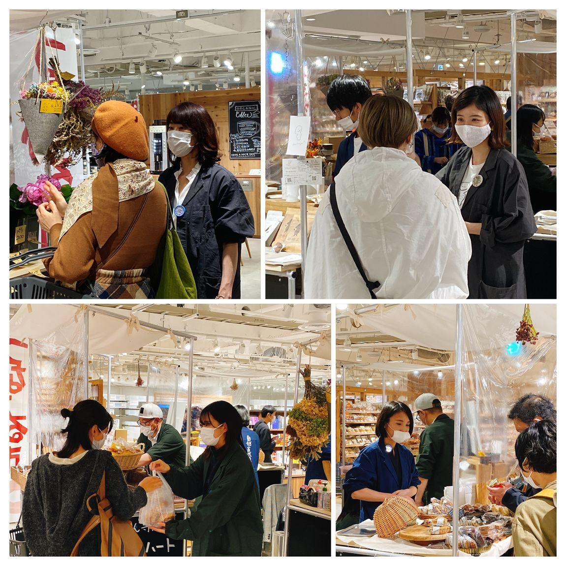 第4回札幌パルコつながる市開催