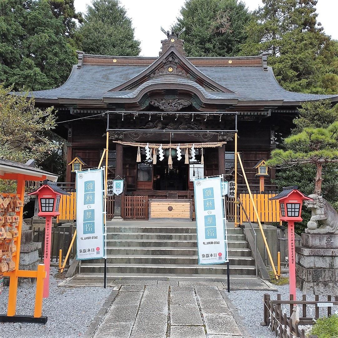 【イオンモール太田】長良神社