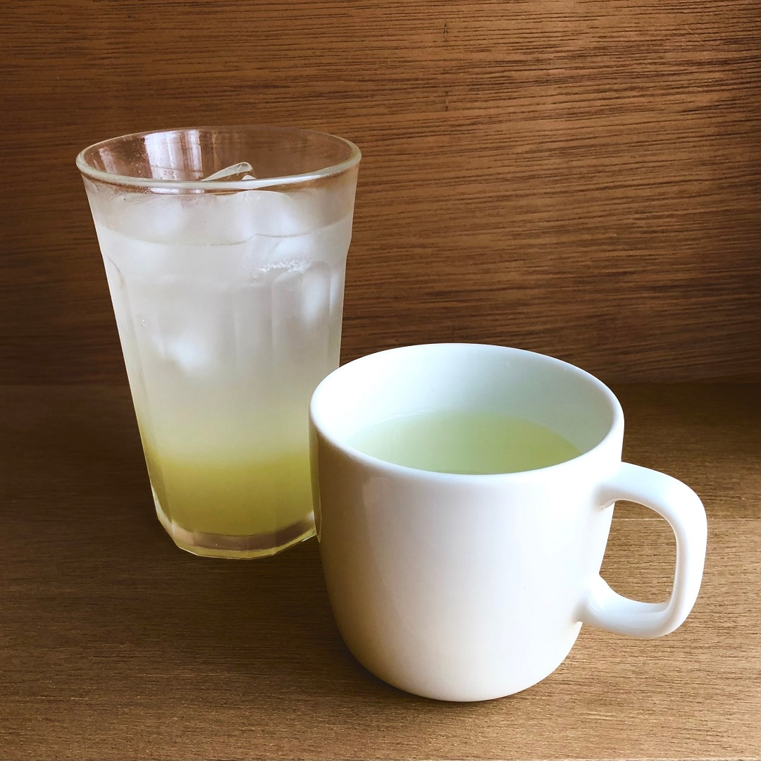 【Cafe&MealMUJI上野マルイ】柚子スカッシュとホット柚子
