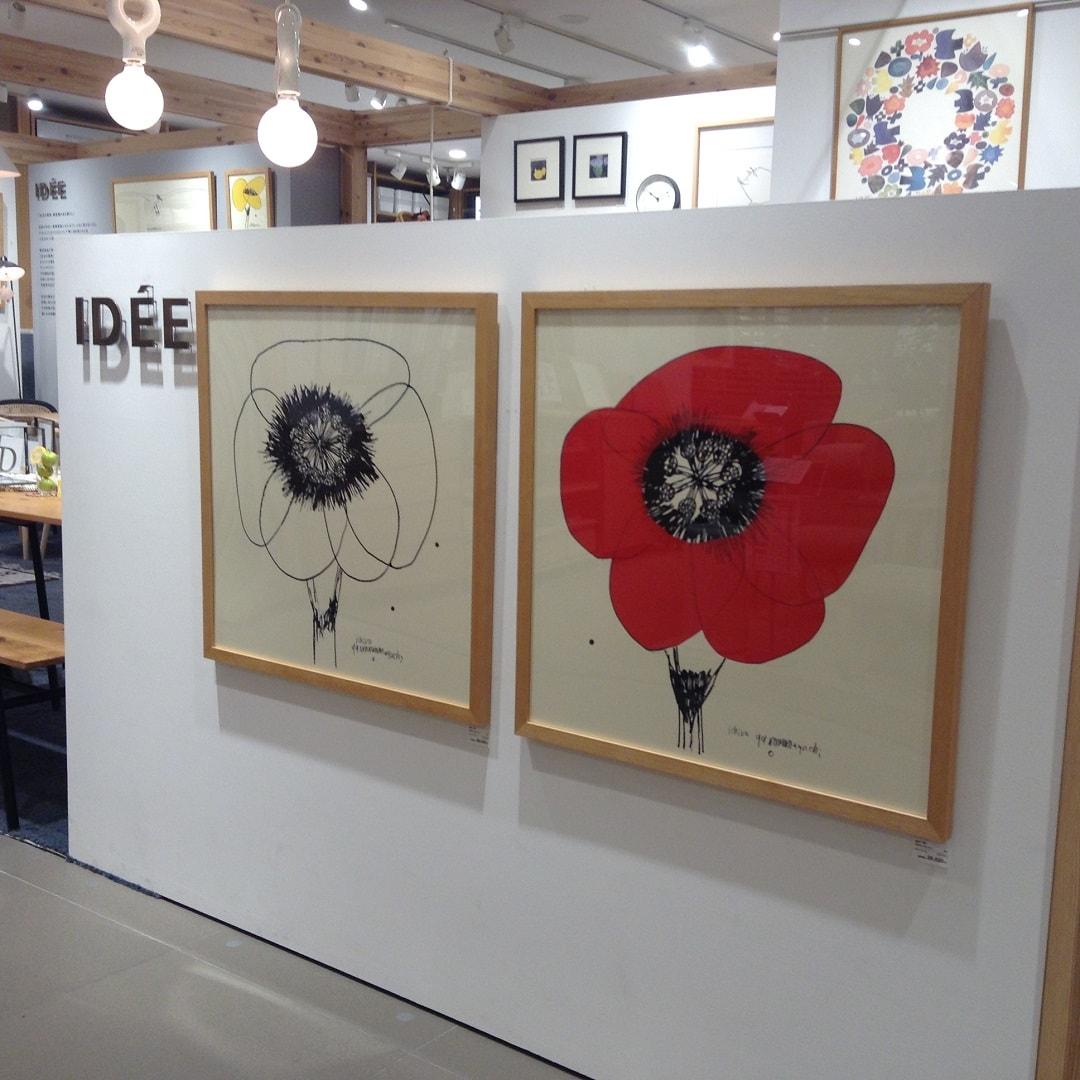 キービジュアル画像:山口一郎さんのアート、取り扱いはじめました|売場紹介