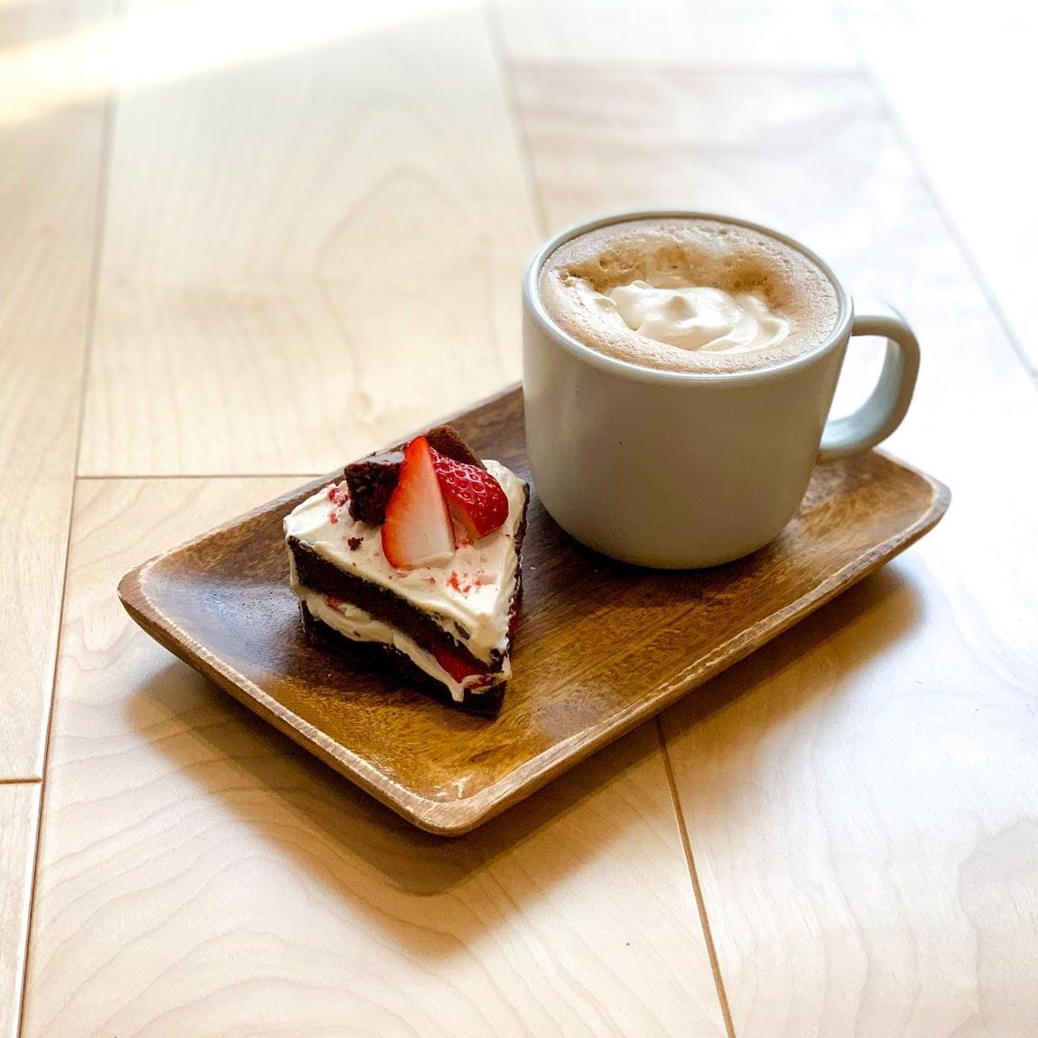 コーヒークリームのガトーショコラ