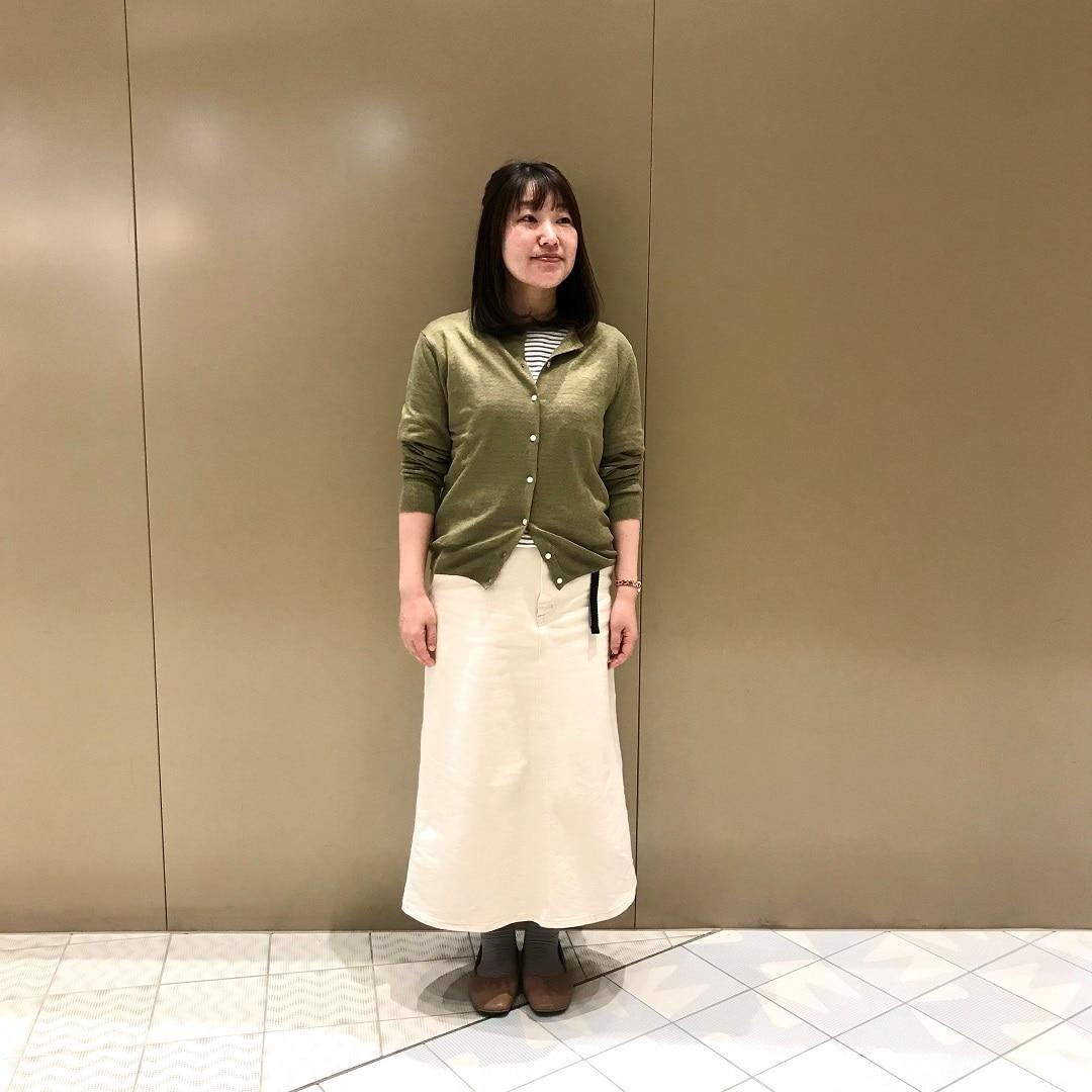 【NEWoMan YOKOHAMA】リネン ニット