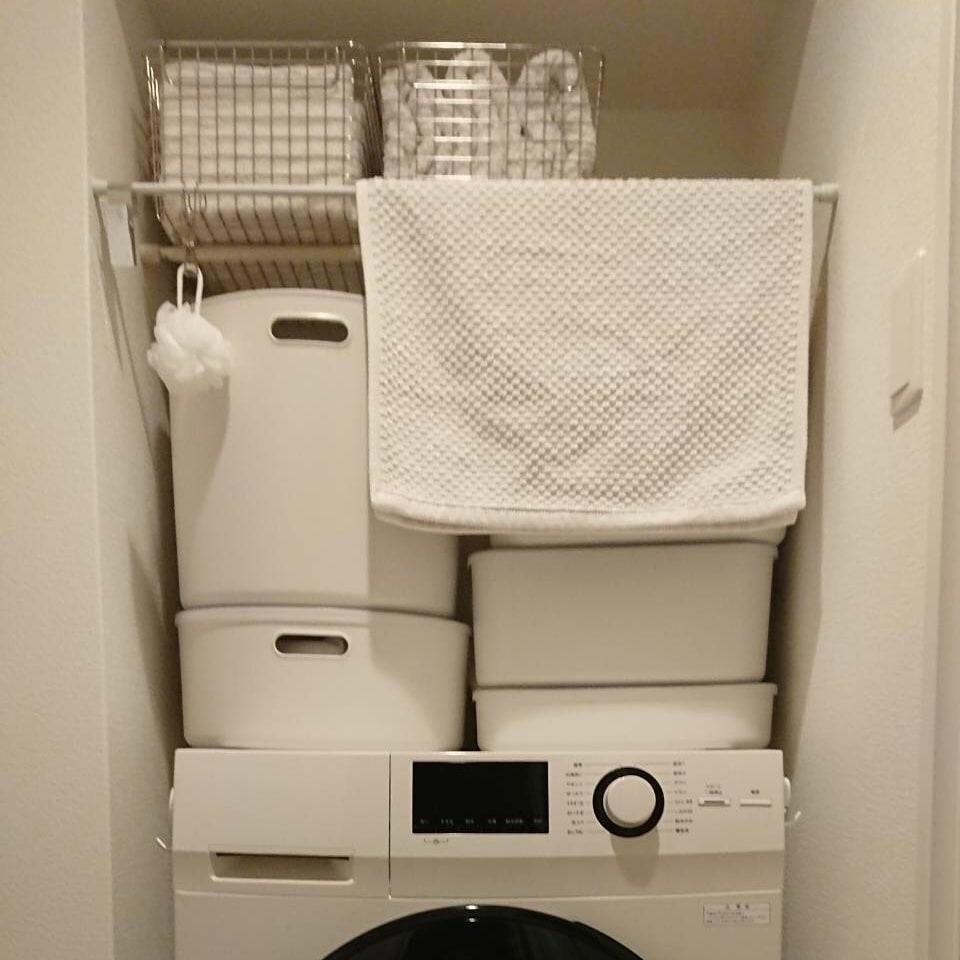 キービジュアル画像:我が家の収納事例~洗面所編|インテリアアドバイザー