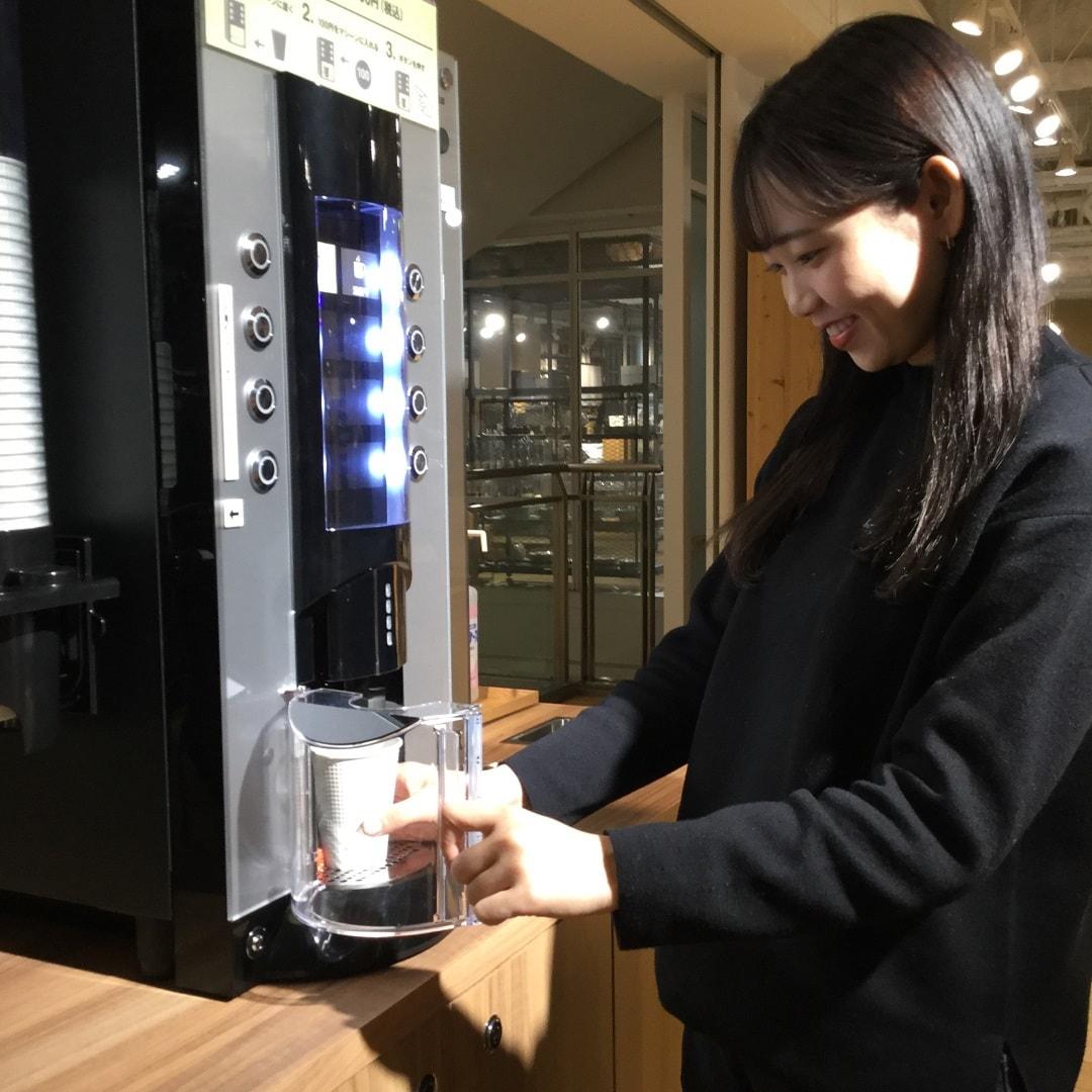 【MUJIキャナルシティ博多】コーヒーマシンがあたらしくなりました|スタッフのおすすめ
