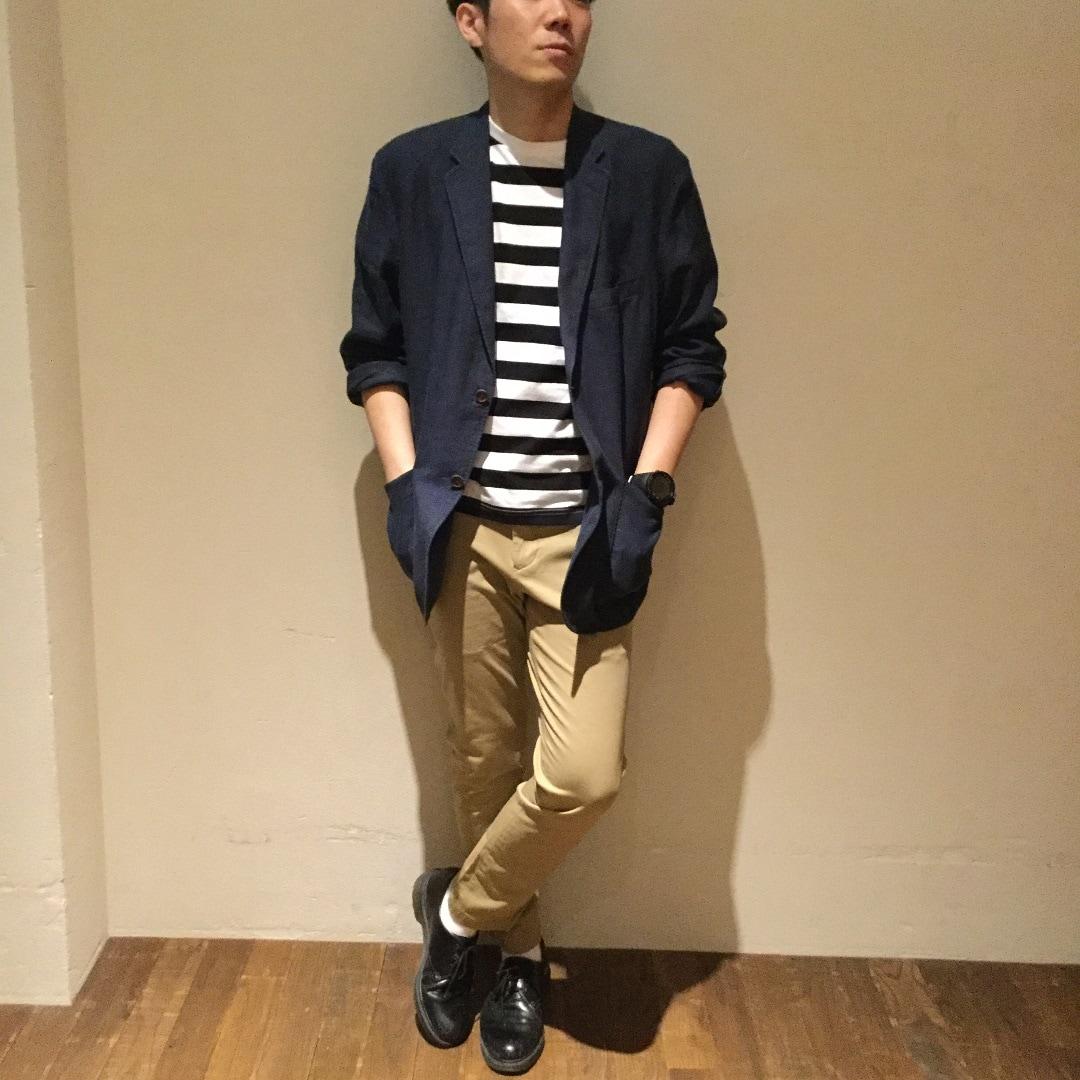 【MUJIキャナルシティ博多】春に着たいさらっと羽織れるジャケット