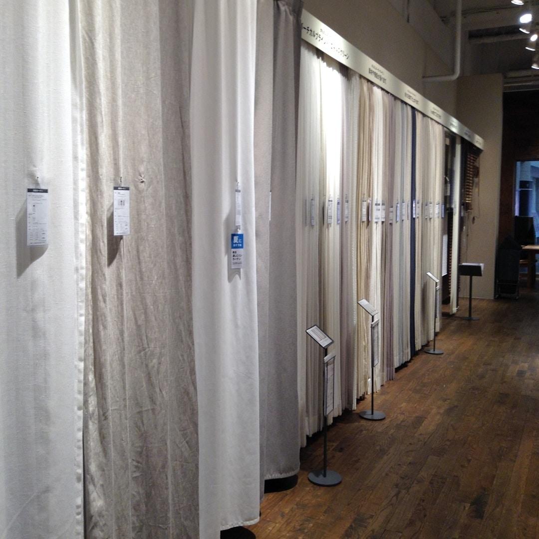 【MUJIキャナルシティ博多】カーテンを着せ替えませんか 測り方・選び方特集