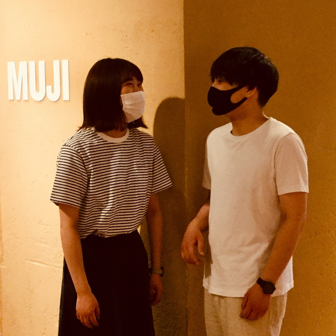 【MUJIキャナルシティ】毎日着たい。無印良品の定番Tシャツ990円ー天竺編みー