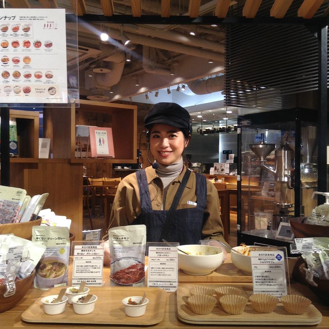 キービジュアル画像:【MUJIキャナルシティ博多】明日12/5(木)の試食をおしらせします