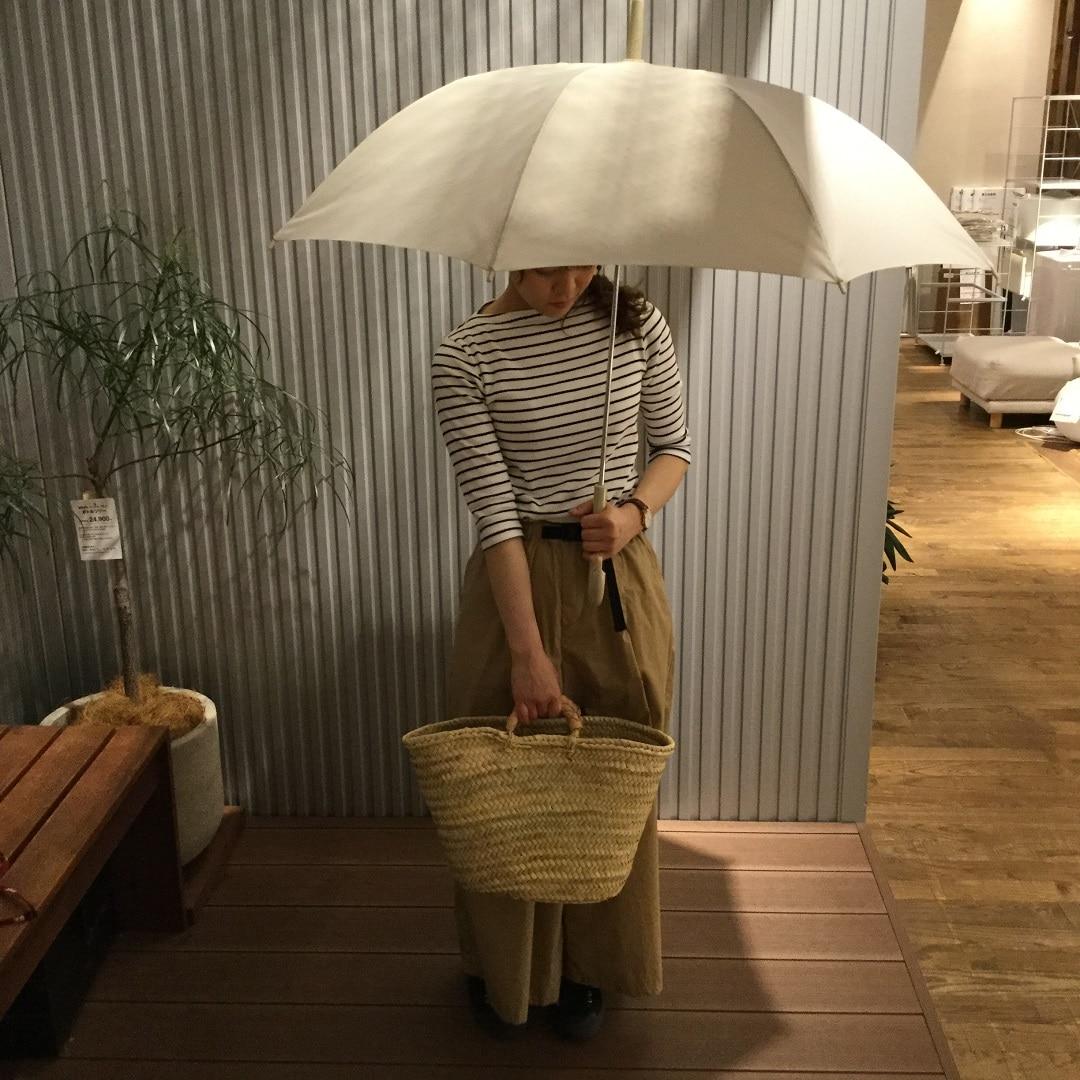 【MUJIキャナルシティ博多】お気に入りの傘で梅雨支度