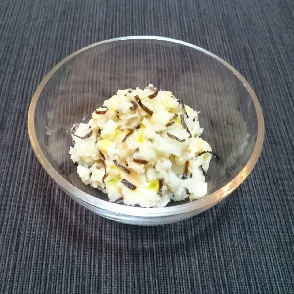 長芋 の ポテト サラダ