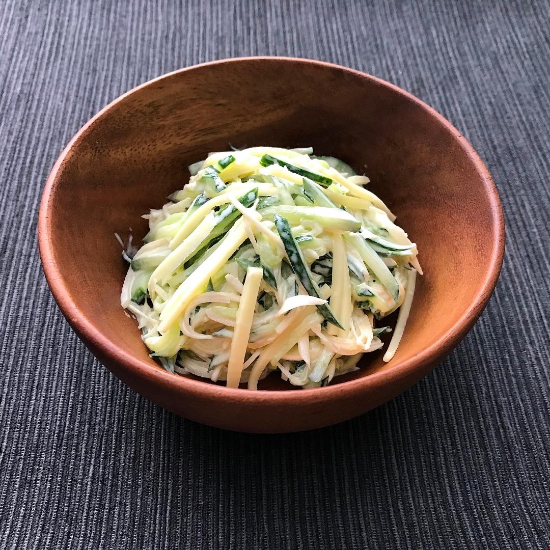 【イオンモール堺北花田】きゅうりと新しょうがのマヨチーズあえ きょうのレシピ