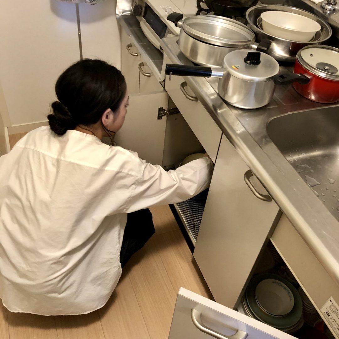 キービジュアル画像:わたしとキッチンvol.8「シンク下のあれやこれ」