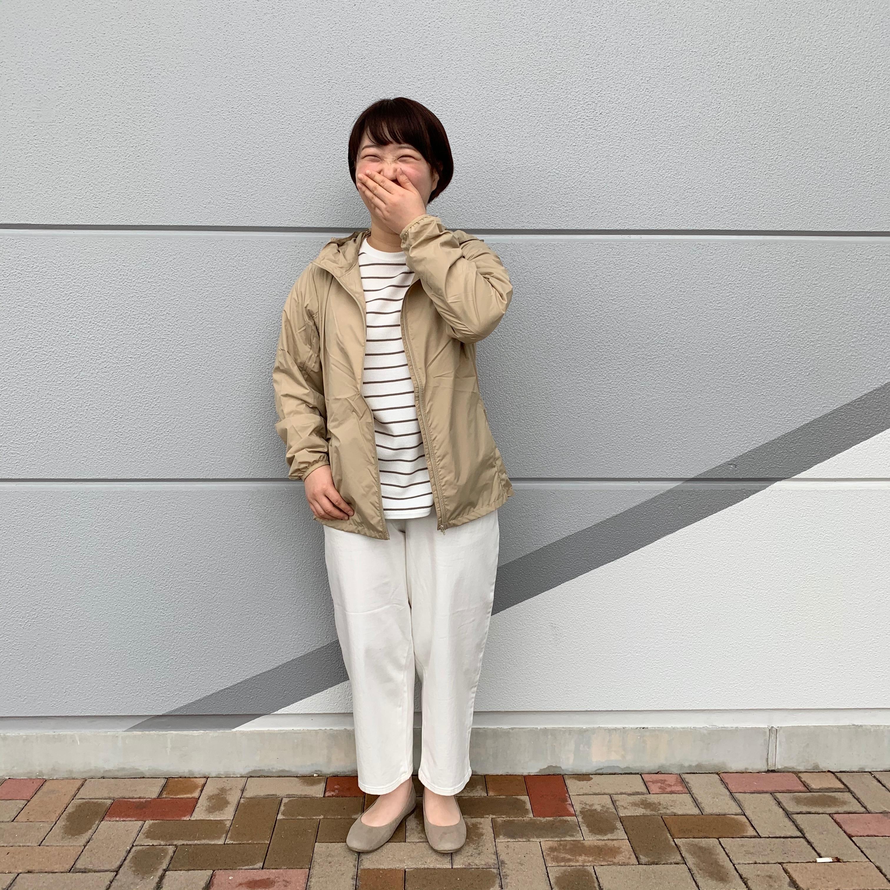 【堺北花田】万能アイテム『水を弾く 風を通しにくい ウィンドブレーカー』。 スタイリングアドバイザー