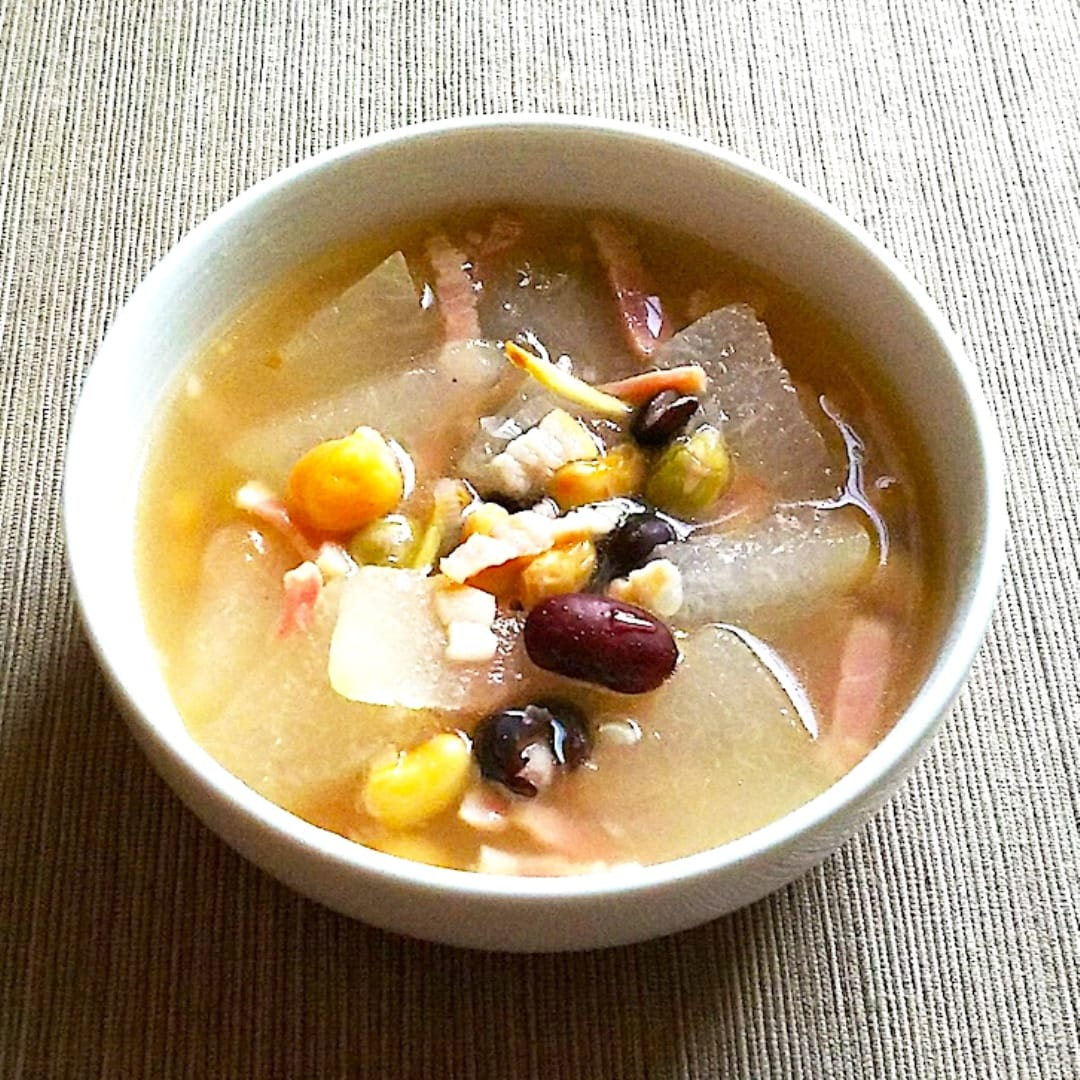 【イオンモール堺北花田】とうがんと豆のスープ|きょうのレシピ