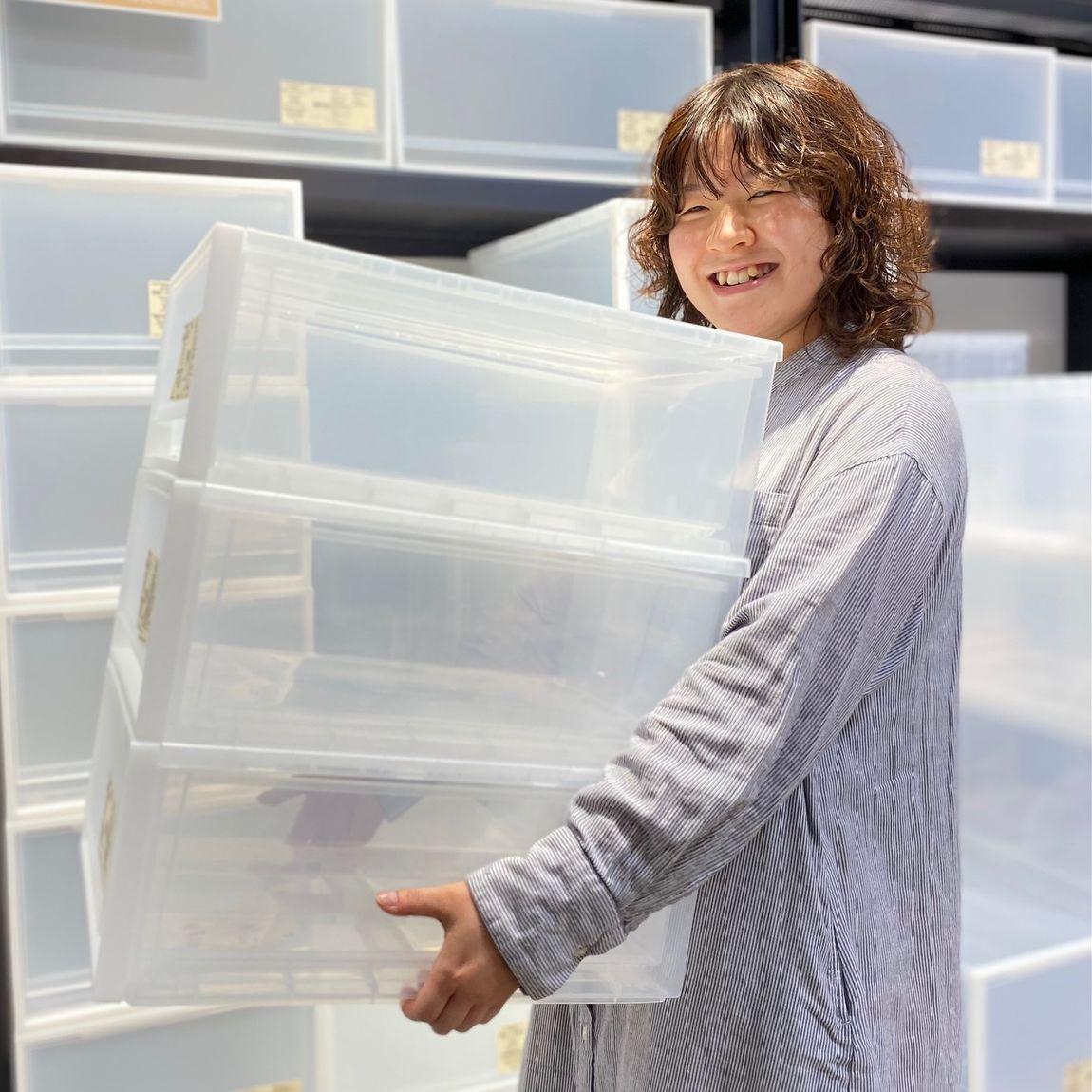 【銀座】ポリプロピレン収納をご購入の方へ|5F 収納用品売り場