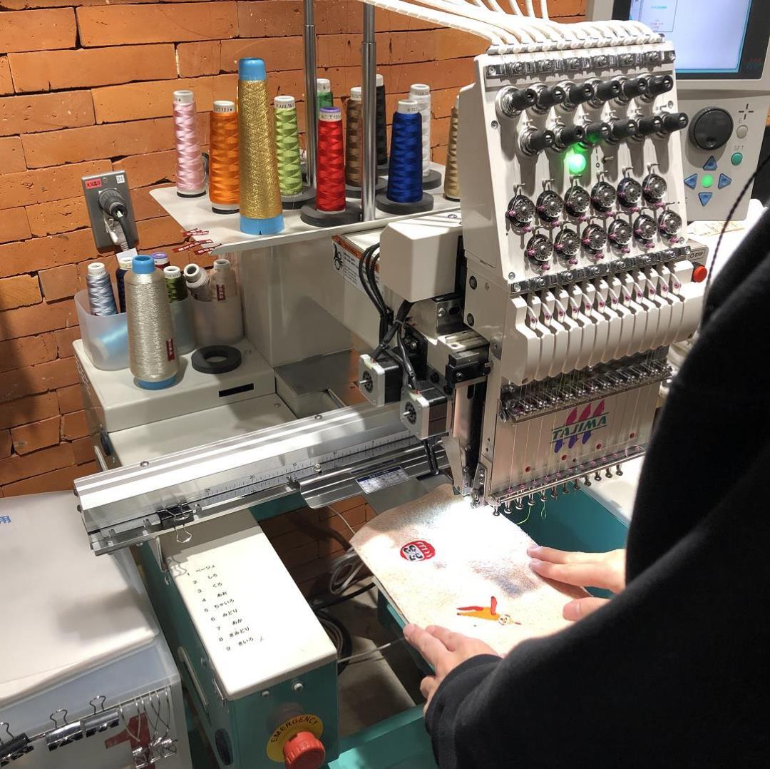 キービジュアル画像:刺繍工房|店舗サービス