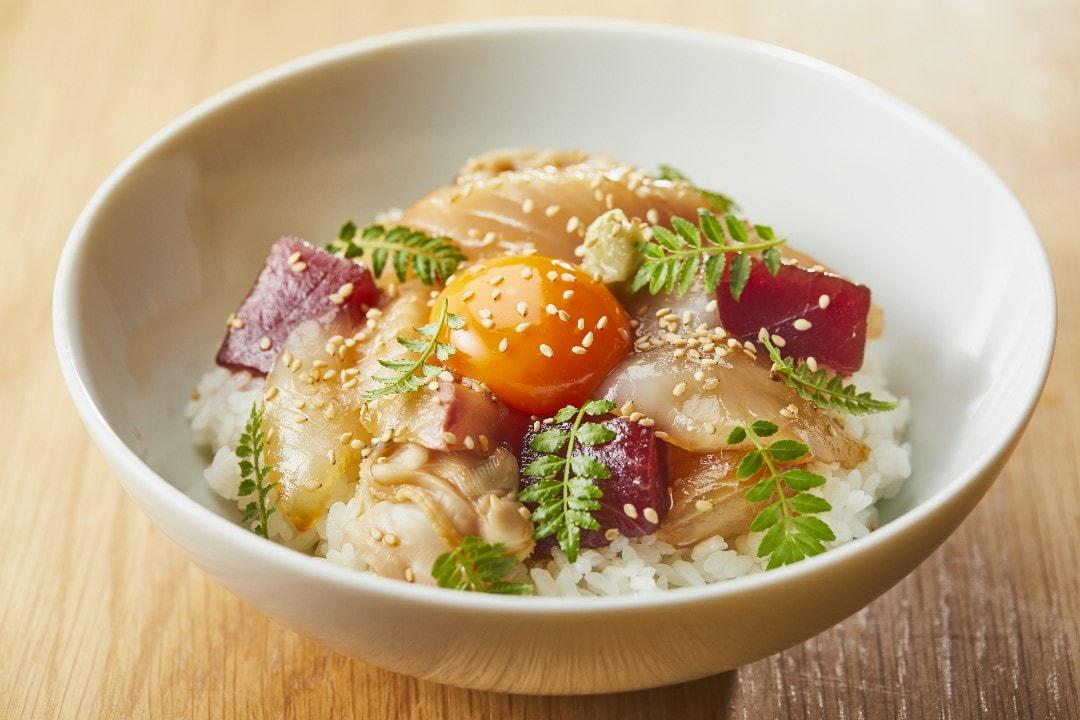 キービジュアル画像:りゅうきゅう丼|B1F MUJI Diner 銀座