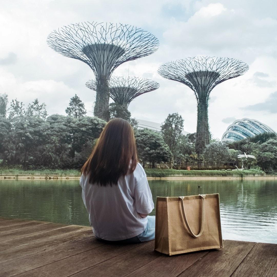 【銀座】「世界の無印良品」の紹介|MUJI Singaporeから無印良品のジュートマイバックとシンガポールの生活
