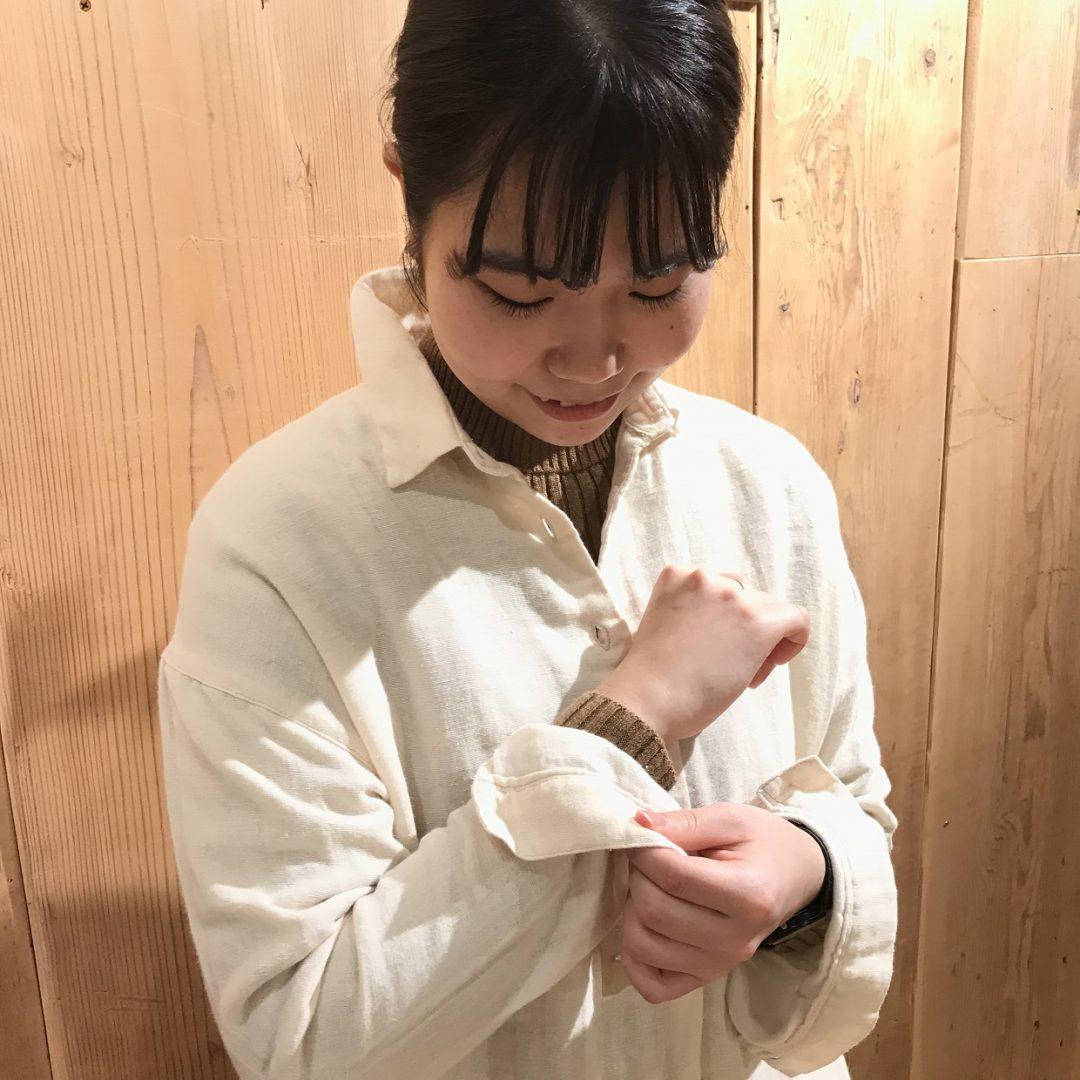 キービジュアル画像:【銀座】二重ガーゼのシャツ|スタイリングアドバイザー