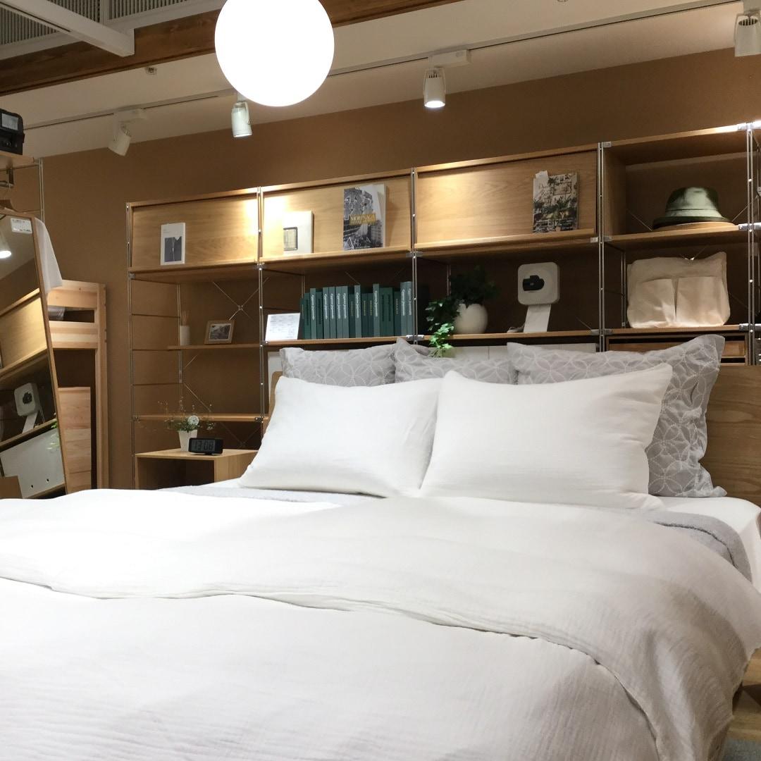 キービジュアル画像:無印良品のおススメベッドフレームで快適な寝心地を。インテリアアドバイザー通信#5