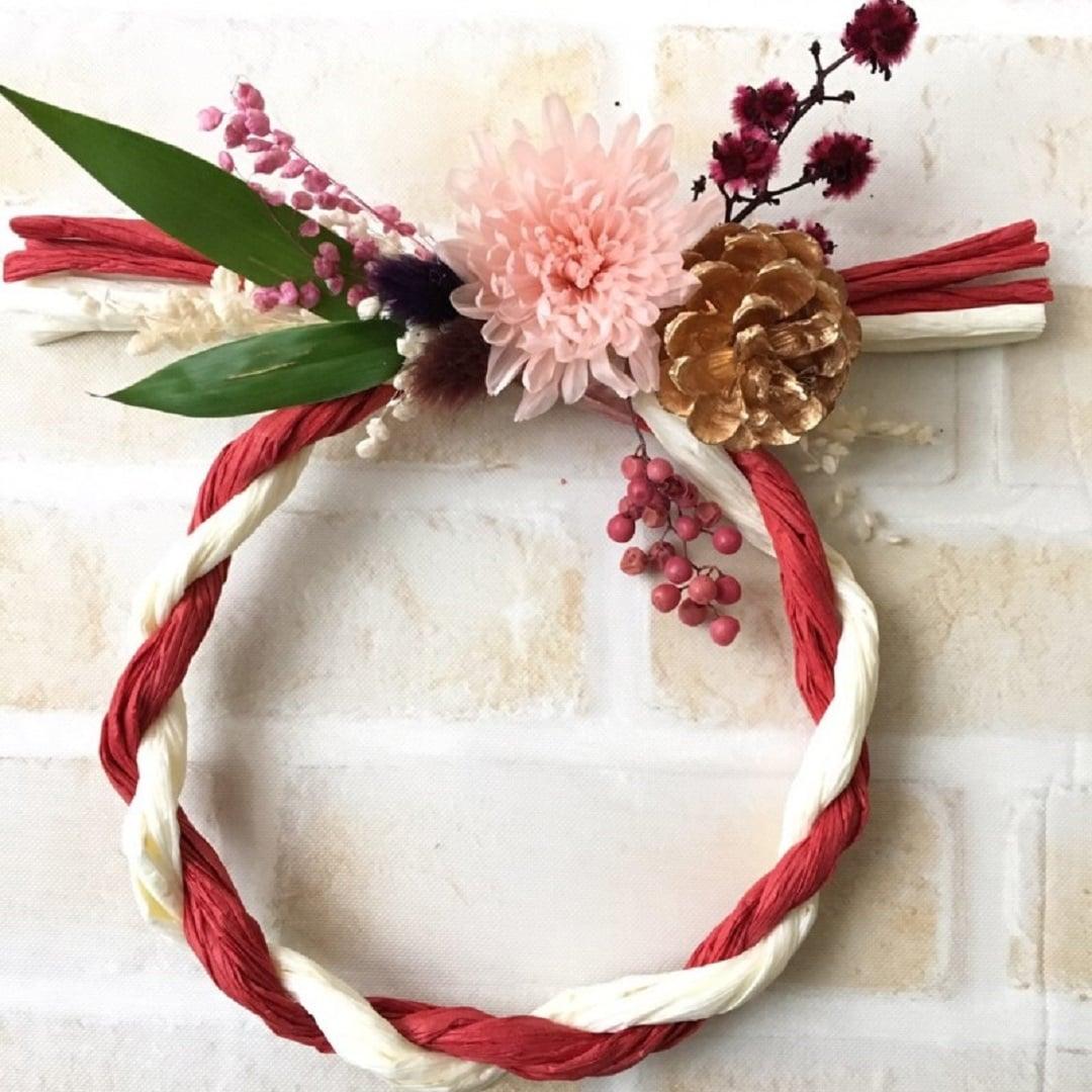 キービジュアル画像:【フジグラン神辺】お正月のしめ縄飾りを作るワークショップ開催のおしらせ