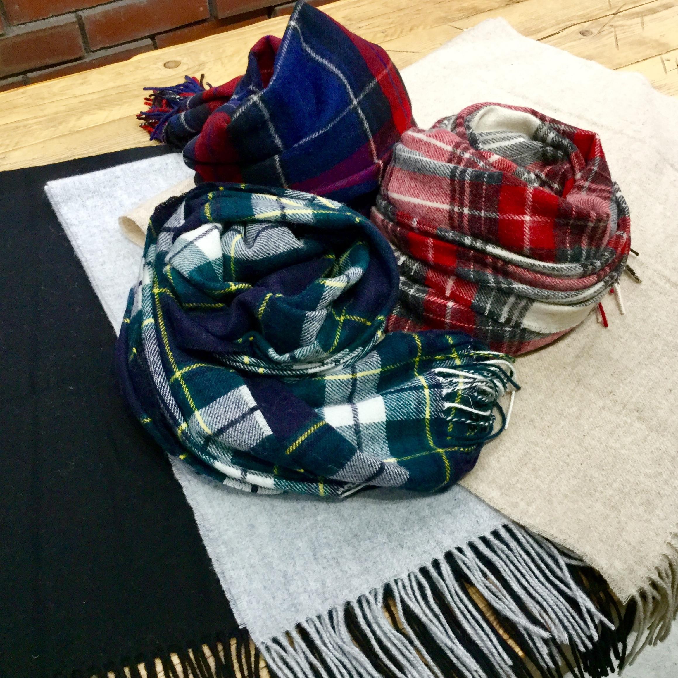 キービジュアル画像:【京都BAL】スタッフのおすすめ商品 ウール織り大判ストール