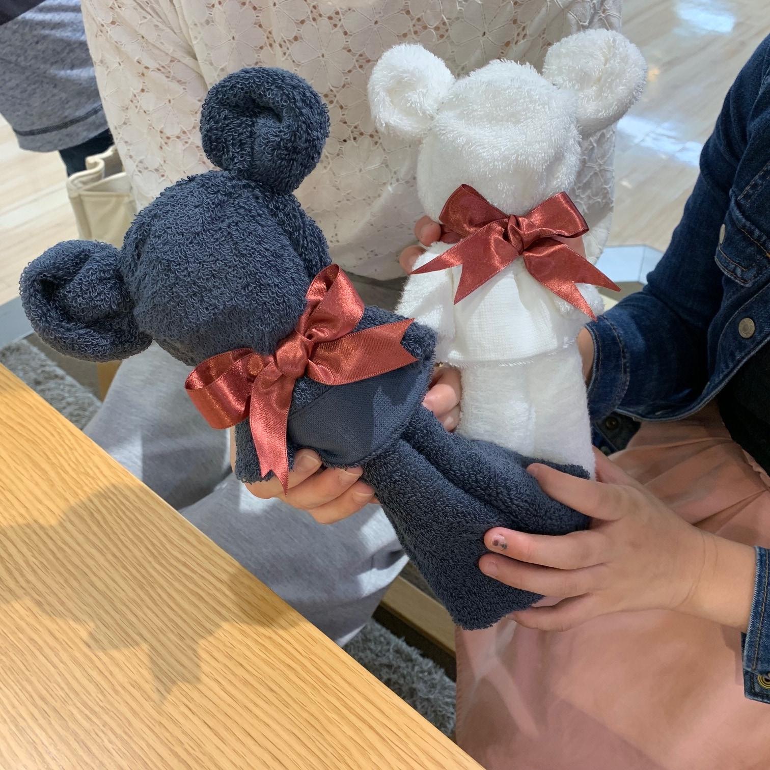 キービジュアル画像:タオルでつくるクマのぬいぐるみ