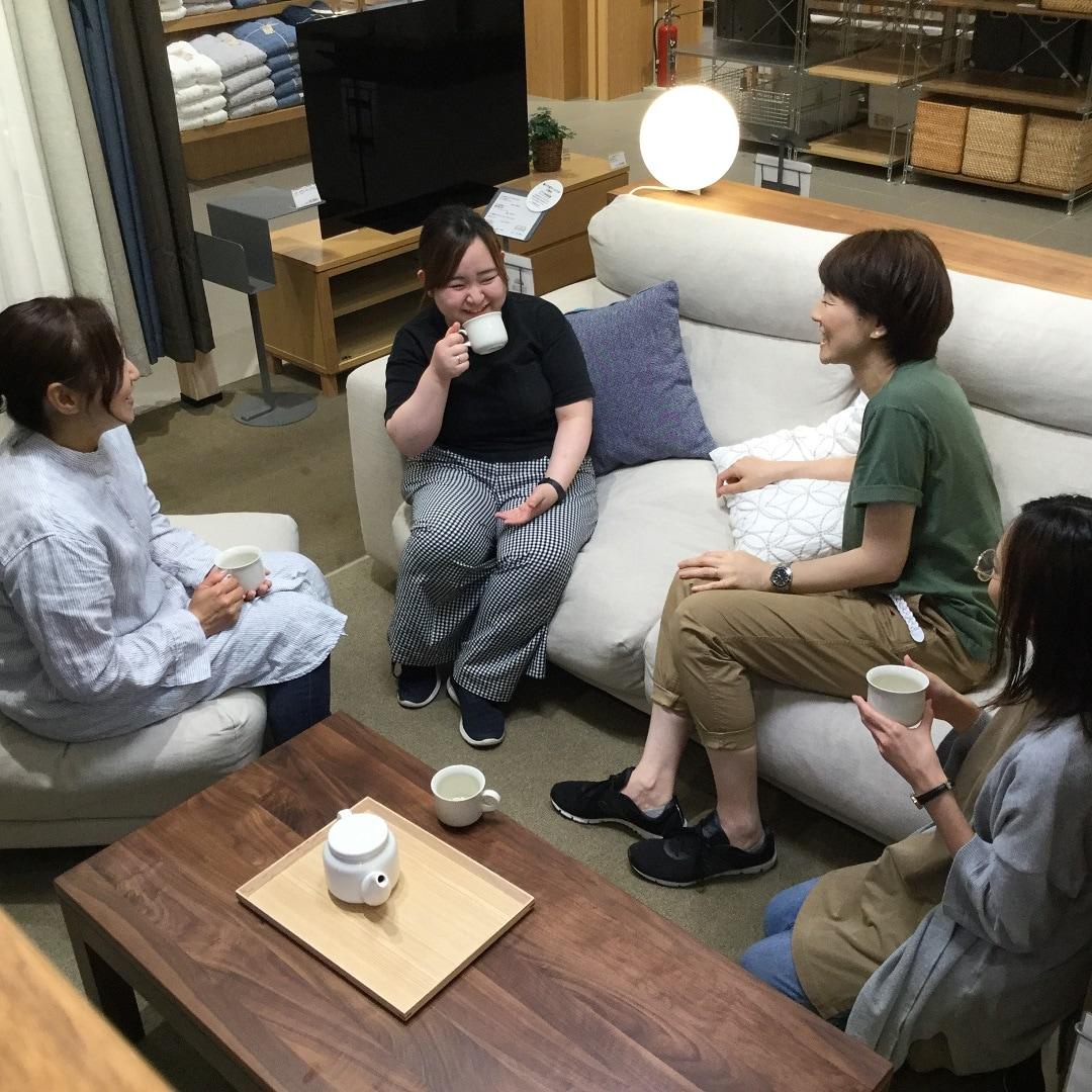 キービジュアル画像:お家でリラックスタイム~ソファのご紹介~|MUJISUPPORT