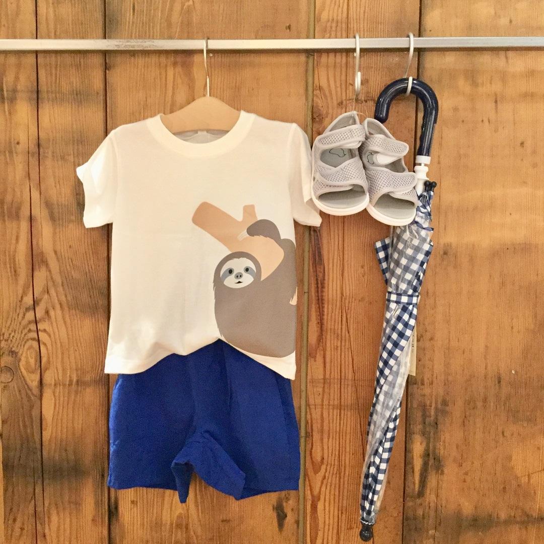 【MUJIキャナルシティ博多】こども服|乾きやすいひざ上ハーフパンツ