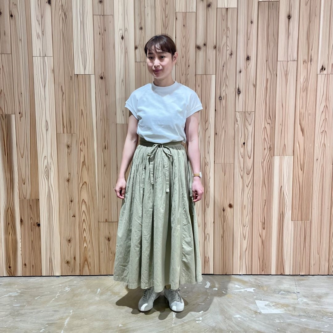 【MUJIキャナルシティ博多】毎日着たい。無印良品の定番Tシャツー太番手ー