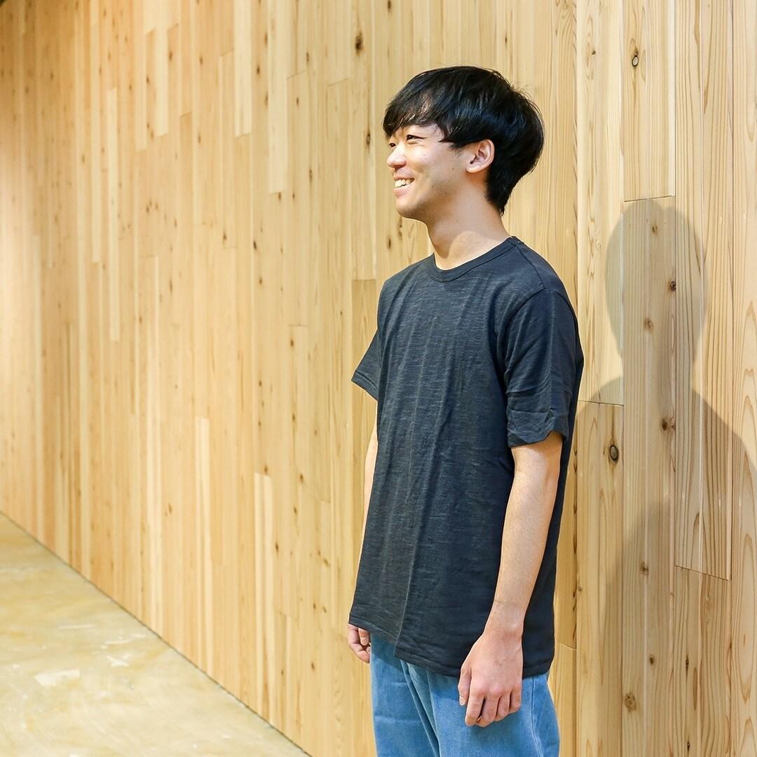 【MUJIキャナルシティ博多】毎日着たい。無印良品の定番Tシャツ990円ームラ糸ー