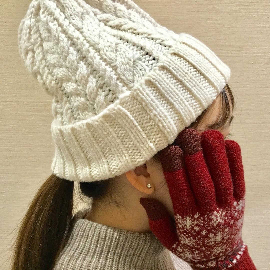 【トキハわさだタウン】冬の小物アイテム