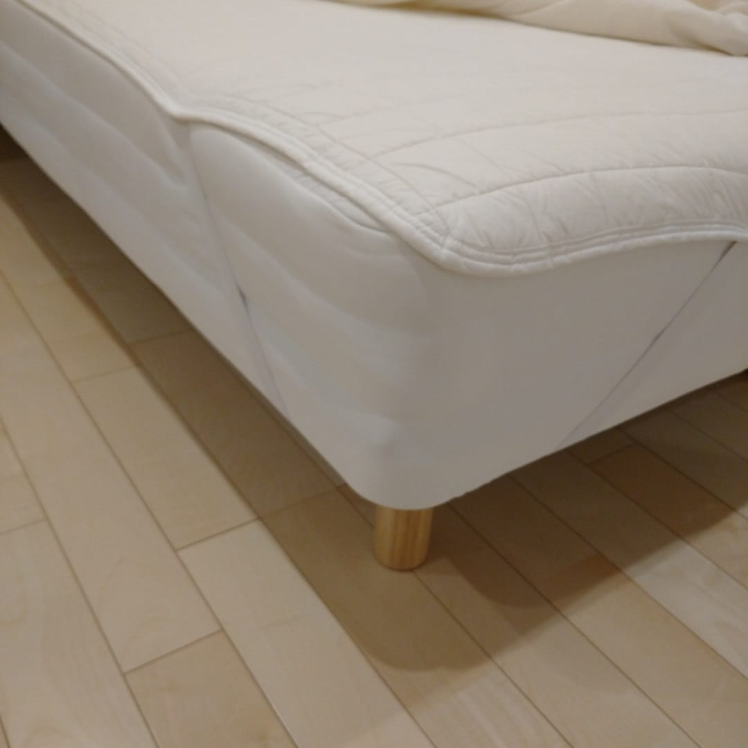 【羽生】ベッドパッド引っ掛ける