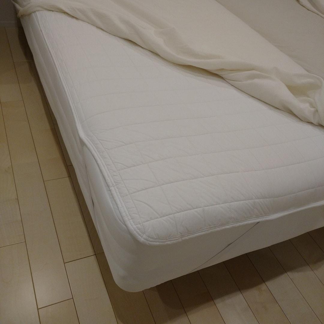 【羽生】脚付マットレスとベッドパッド