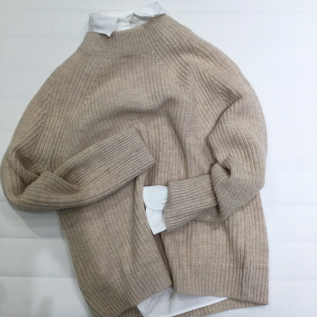 【サンリブシティ小倉】セーター×シャツ