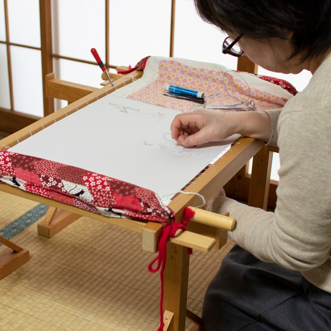 加賀繍 伝統工芸士
