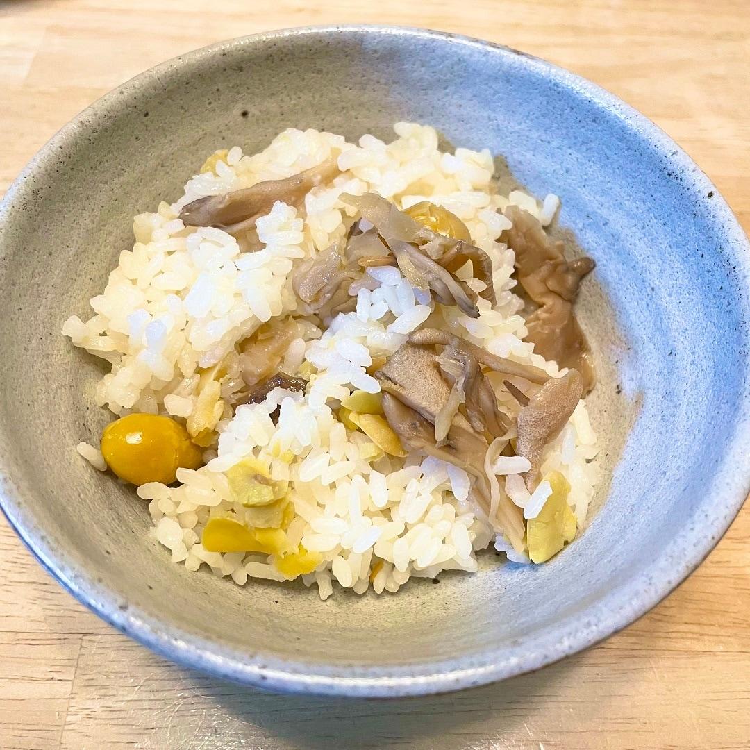 【明石ビブレ】秋にピッタリ炊き込みご飯