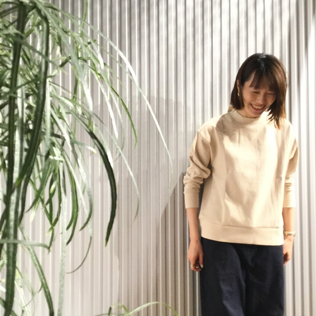 【MUJIキャナルシティ博多】プルオーバーライトベージュ